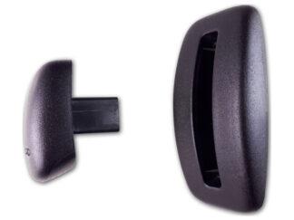 R 3631S Recaro Modulair knop klapsysteem
